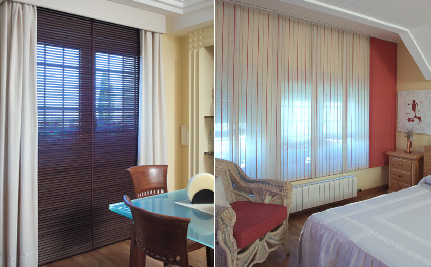 Cortinas o estores pasillo estores y cortinas with - Estores o cortinas ...