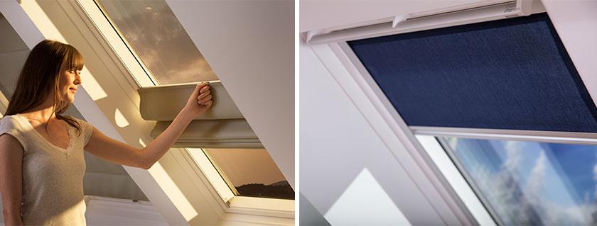 Estores para ventana velux burgoventanas i for Persiana velux manual