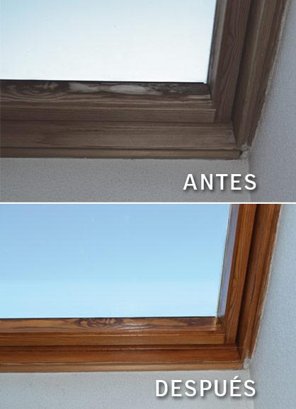 Restauraci n de ventanas de tejado velux instalaci n y - Mosquiteras para velux ...